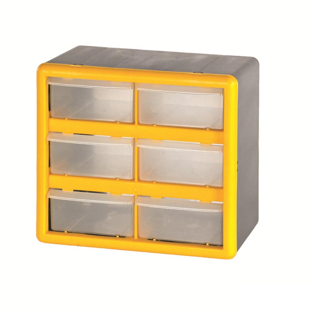 6 Compartment Storage Box
